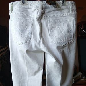 White Tory Burch Jeans NWT